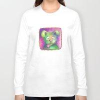puppy Long Sleeve T-shirts featuring Puppy by WINN CREATIVE