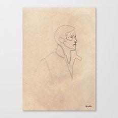 One line Drive (Ryan Gosling)  Canvas Print