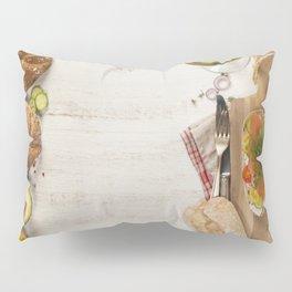 healthy sandwiches Pillow Sham