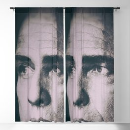 Apocalypse now, Marlon Brando, Vietnam war, alternative movie poster, cult film Blackout Curtain