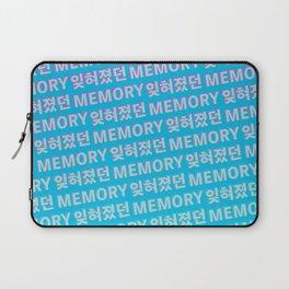 The Forgotten Memory - Typography Laptop Sleeve