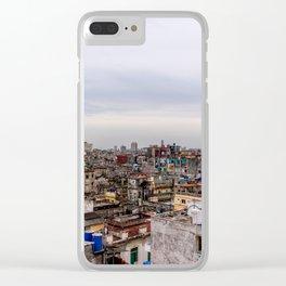 Ciudad de La Habana Clear iPhone Case