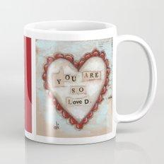 So Loved - by Diane Duda Mug