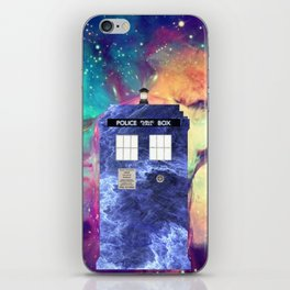 Galaxy Tardis iPhone Skin