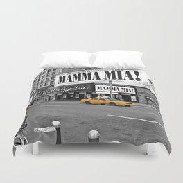 NYC Yellow Cabs Mamma Mia - USA Duvet Cover