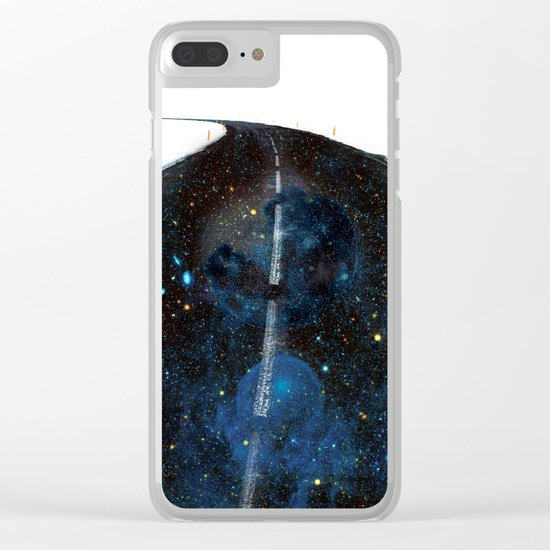 Galaxy Road Clear iPhone Case