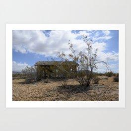 Dilapidated Desert Dwelling Art Print
