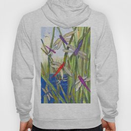 Dragonfly Summer Hoody