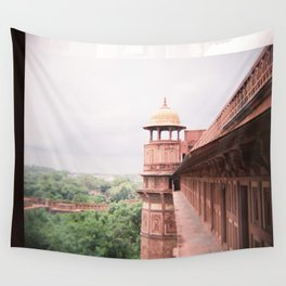 Agra Fort on Diana F+ Wall Tapestry