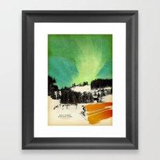 Dont Forget Northern Lights Framed Art Print