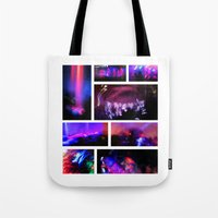 creepy Tote Bags featuring Creepy by JReisPhotoDesign