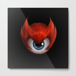 The Eye of Rampage Metal Print