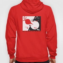 Beet the whites with the red veg Hoody