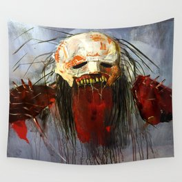 Desolate warrior Wall Tapestry