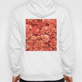 Coral Carnations Hoody