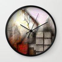 inspiration Wall Clocks featuring Inspiration  by John Hansen