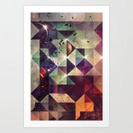 Γyht Lyht Art Print