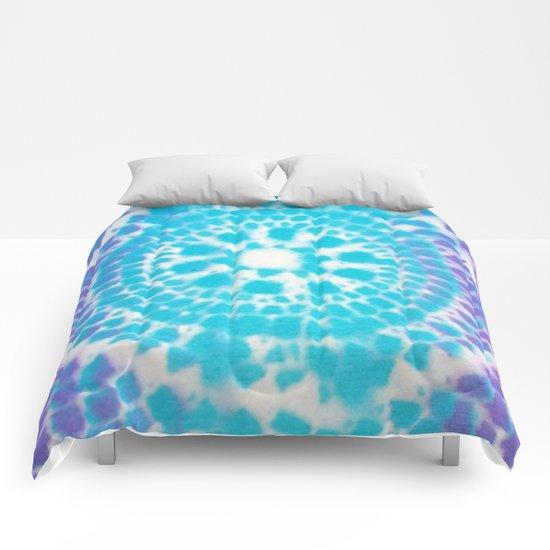 Scale Mandala Pattern Comforters