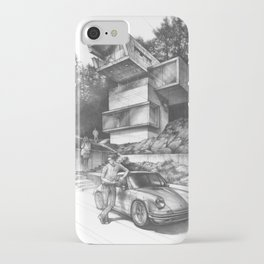 Modern house concept iPhone Case