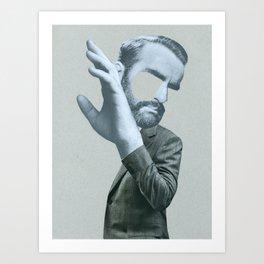 Sigmund in denial Art Print