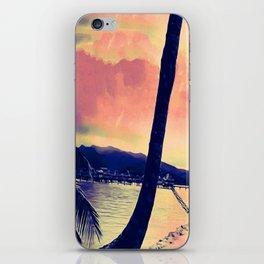 Tempest Island (Warmer Version) iPhone Skin