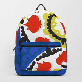 Bold and bright beauty of suzani patterns ver.5 Backpack