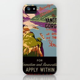 Beauty and grandeur – The Yangtsze [Yangtze] Gorges iPhone Case