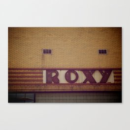 Roxy's Canvas Print