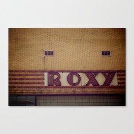 Roxy's Canvas Print