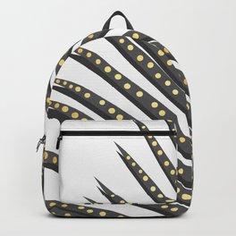 Watercolor tropical leaf II Backpack