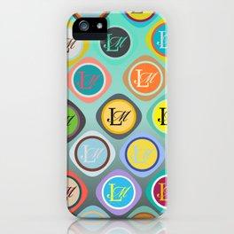 monogram iPhone Case
