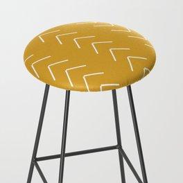 V / Yellow Bar Stool