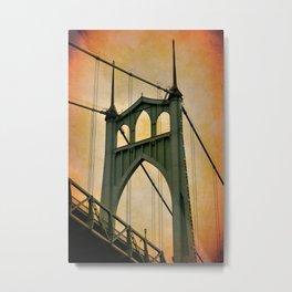 ST. JOHN'S BRIDGE - PORTLAND - OREGON Metal Print