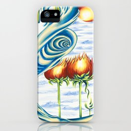Poppie Flowers iPhone Case