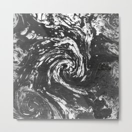 Suminagashi Series (Qi) 氣 Metal Print