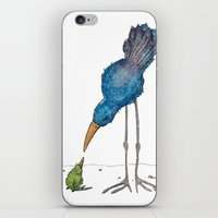 teacher iPhone & iPod Skins featuring The Teacher by Jennifer Geldard