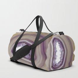 Iris and butterscotch Agate Duffle Bag