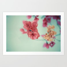 Spring bouquet 3 Art Print