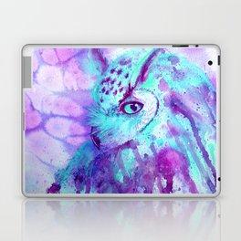 purple owl Laptop & iPad Skin