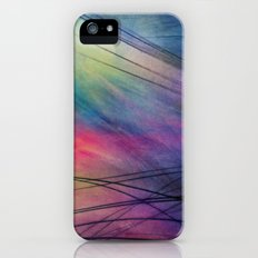 Tropical Feather Abstract Slim Case iPhone (5, 5s)
