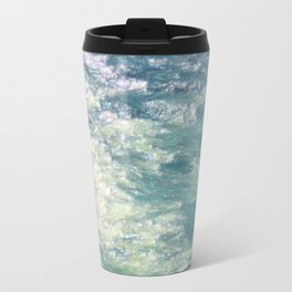 Sea Painting Maravellous Effect with brushes Travel Mug