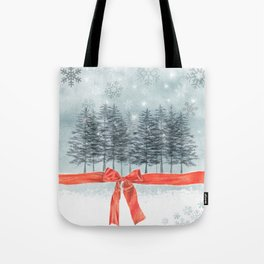 wintertrees Tote Bag