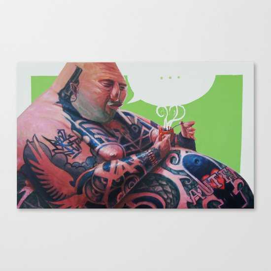 autentico Canvas Print