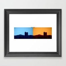 Denver, Colorado Framed Art Print