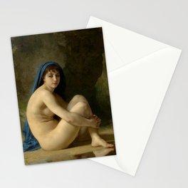 "William-Adolphe Bouguereau ""Seated Nude"" Stationery Cards"