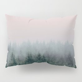 Forest in Pink Pillow Sham