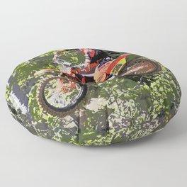 High Flying Racer - Motocross Champ Floor Pillow