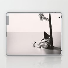 Palm Tree 18 BW Laptop & iPad Skin