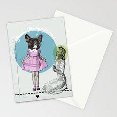Pretty Chauncey Princess - French Bulldog Stationery Cards