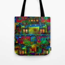 In The Style Of Old Valletta Tote Bag